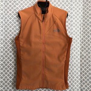 The North Face Flight series rust zip up vest